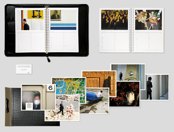 collector set of the Salaryman Project 2014 photo agenda and prints